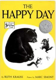 happy day book cover with bear